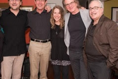 Suzi with Stefan Karlsson Ed Soph George Oldziey Eddie Gomez